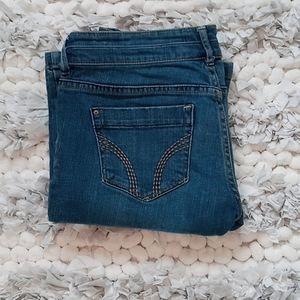 Hollister Stretch Flare Bottom Jeans